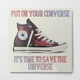 Save The Universe Metal Print