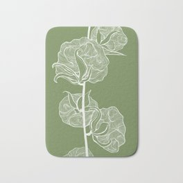 Cotton in Green Bath Mat