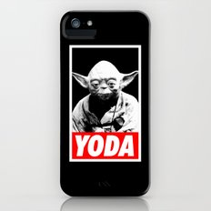 Obey Yoda (yoda text version) - Star Wars iPhone (5, 5s) Slim Case