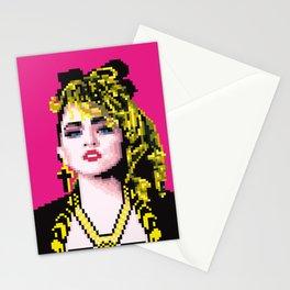 Virgin-like girl Stationery Cards