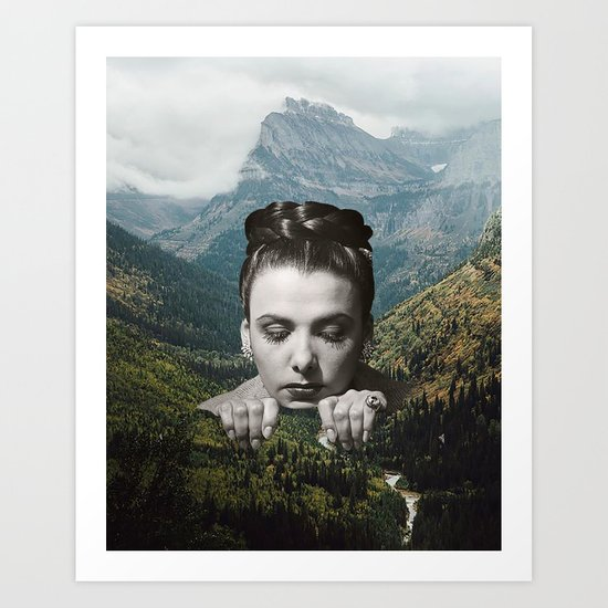 Valley Girl Art Print