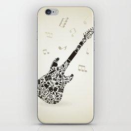 Art a guitar iPhone Skin