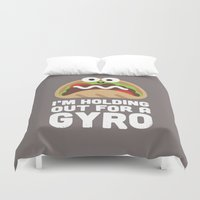 Tzatziki and Ye Shall Find Duvet Cover