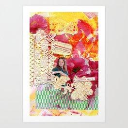Fearless Heart Art Print