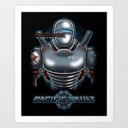Pacific Vault Art Print