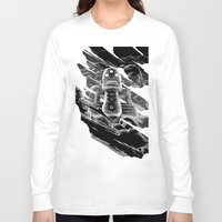 totem Long Sleeve T-shirts featuring Totem by A P Schofield fine arts