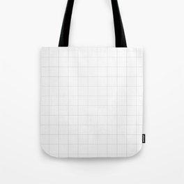 Plain grids Tote Bag