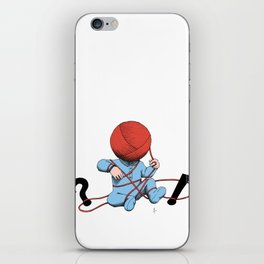 Mankind iPhone Skin