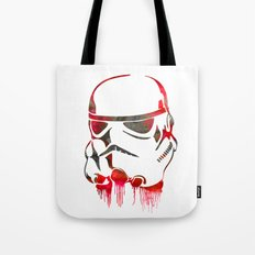 Storm Trooper Print Tote Bag