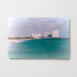 Dania Beach seascape Metal Print