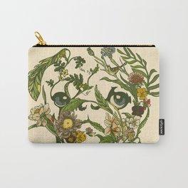 Botanical Pug Carry-All Pouch