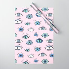 Evil eye Wrapping Paper