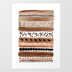Pattern / Nr. 3 Art Print