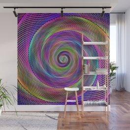 Spiral magic Wall Mural