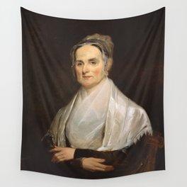 Lucretia Coffin Mott Oil Painting Portrait Wall Tapestry
