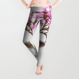 Wooden Vase Leggings