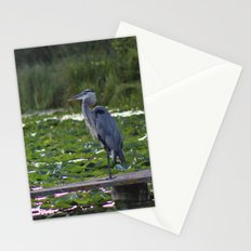 Heron on Deck Stationery Cards