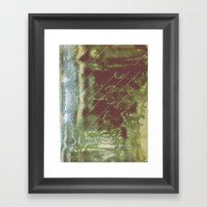 【絵と爪痕】e. Framed Art Print