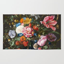 Vase of Flowers - de Heem Rug