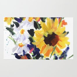 Sunflower Bouquet Rug