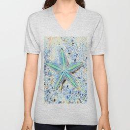 Starfish Abstract Unisex V-Neck