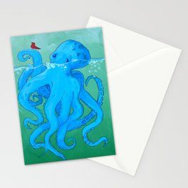Octo Love Against the Odds Stationery Cards