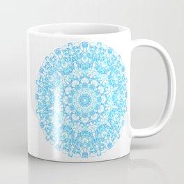 Mandala 12 / 1 eden spirit light blue turquoise Coffee Mug