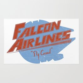 Falcon Airlines Rug