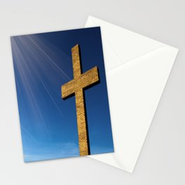 Heaven's Cross Stationery Cards