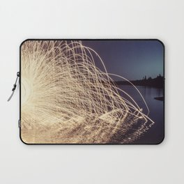 Sparking into the Lake Laptop Sleeve
