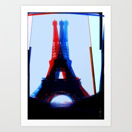 Architectural Shapes #5 Art Print