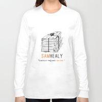 matty healy Long Sleeve T-shirts featuring Healy | Lesbian Request Denied | OITNB by Sandi Panda