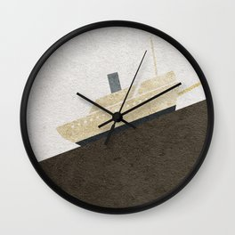 Fitzcarraldo Alternative Minimalist Poster Wall Clock
