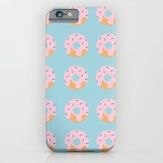 Sweet Doughnuts with Pink Frosting Slim Case iPhone 6s