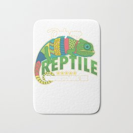 Only My Reptile Understands Me Pets Reptilia Herpetology Reptilian Cold Blooded Animal Gift Bath Mat