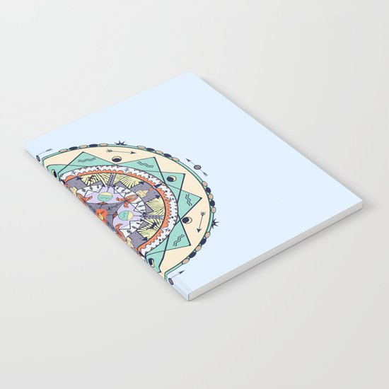 Time and Light Native Shapes Mandala Notebook