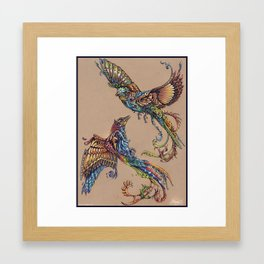 Flight Of Paradise Framed Art Print