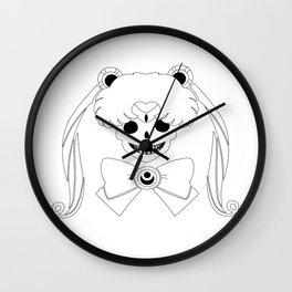 Sailor Moon Skull Wall Clock