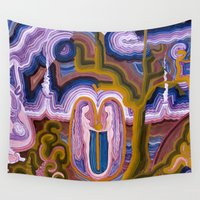 paradise Wall Tapestries featuring Paradise by CrismanArt