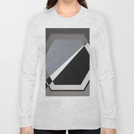 London - hexagon Long Sleeve T-shirt