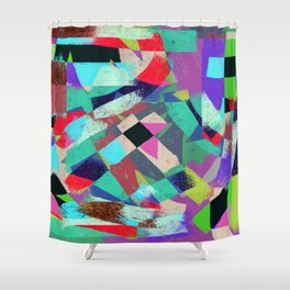 Exclusion - Graffiti Collection Shower Curtain