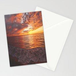 Inspirational Sunset by Aloha Kea Photography Stationery Cards