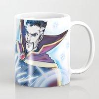enerjax Mugs featuring Doctor Strange by enerjax