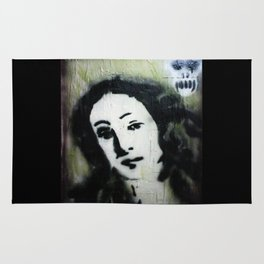 WE ARE MORE BEAUTIFUL THAN VENUS BECAUSE WE ARE DOOMED Rug