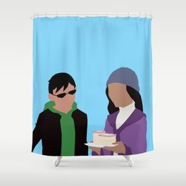 Chalant Minimalism Shower Curtain