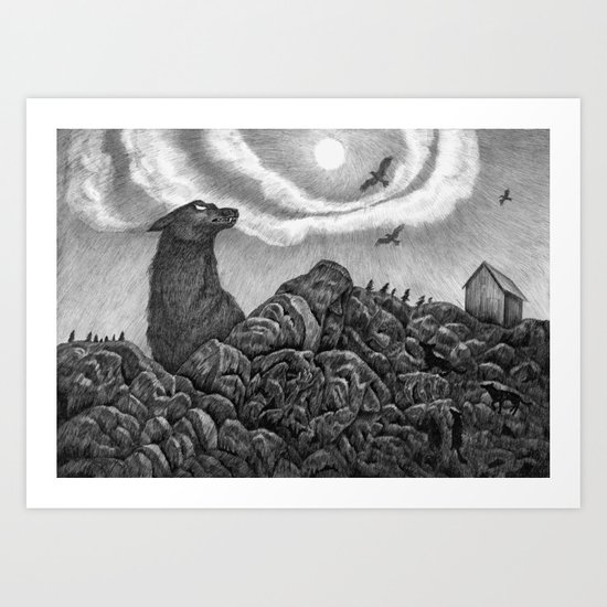 North Art Print