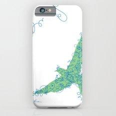 Bird Fly No. 2 (Blue/Green) Slim Case iPhone 6s