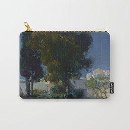 Joaquín Sorolla y Bastida (Spanish, 1863 - 1923) Corner of the Garden, Alcazar, Sevilla, 1910, Oil Carry-All Pouch