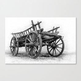 An old Wagon Canvas Print