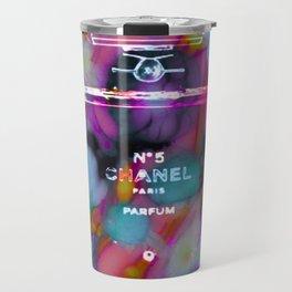 CC No.5 Floral Remix Travel Mug